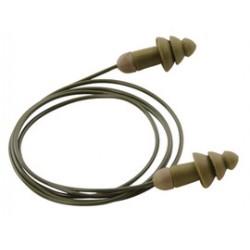 Moldex - 6485 - Moldex Camo Rockets Tapered Styrene Corded Earplug
