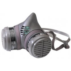 Moldex - 8113N-CA - Moldex Large 8000 Series Half Face Air Purifying Respirator, ( Case of 12 )