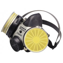MSA - 10002052 - MSA Medium Comfo Classic Series Half Mask Air Purifying Respirator, ( Each )