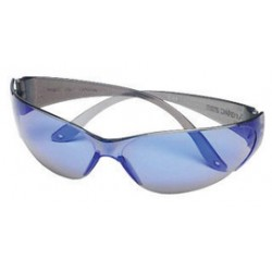MSA - 10008179-CA - MSA Arctic Impact Resistant Safety Glasses With Gray Frame And Clear/Blue Mirror Polycarbonate Tuff-Stuff Anti-Scratch Lens, ( Case of 12 )