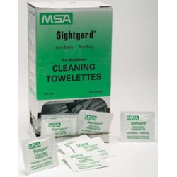 MSA - 10022087 - MSA 10022087 Sightgard Pre-Moistened Lens Cleaning Towe...