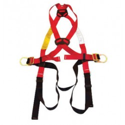 MSA - 10033836 - MSA Standard FP Pro Vest Style Harness With (1) Back D-Ring And Tongue Leg Strap Buckle, ( Each )