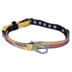 "MSA - 415338 - MSA Small Nylon And 1 3/4"" Polyester Web Miner's Body Belt With Tongue Buckle, Fixed D-Ring And Straps For Battery And Repiratory Packs"