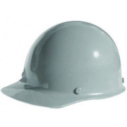 MSA - 454622 - MSA Gray Skullgard Phenolic Cap Style Hard Hat With Staz On 4 Point Pinlock Suspension, ( Each )