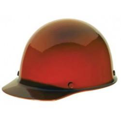 MSA - 454626 - MSA Orange Skullgard Phenolic Cap Style Hard Hat With Staz On 4 Point Pinlock Suspension