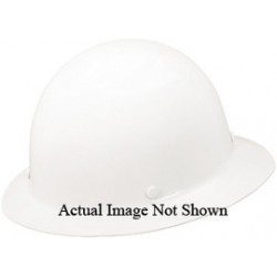 MSA - 454714 - MSA Blue TopGard Polycarbonate Full Brim Hard Hat With Staz On 4 Point Pinlock Suspension
