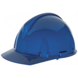 MSA - 454723 - MSA Blue TopGard Polycarbonate Cap Style Hard Hat With 1 Touch 4 Point Pinlock Suspension