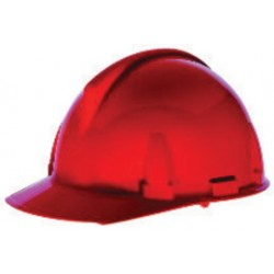 MSA - 454725 - MSA Orange TopGard Polycarbonate Cap Style Hard Hat With 1 Touch 4 Point Pinlock Suspension
