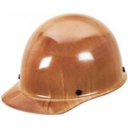 MSA - 457435 - MSA Tan Skullgard Phenolic Standard Cap Style Hard Hat With Staz On 4 Point Pinlock Suspension, ( Each )