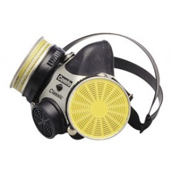 MSA - 471218 - MSA Small Comfo Classic Ultravue Series Full Face Air Purifying Respirator, ( Each )