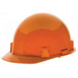 MSA - 486962 - MSA Orange Thermalgard Glass Reinforced Nylon Cap Style Bump Cap With Fas Trac Ratchet Suspension, Beaded Edge, Slots For Mounting Hearing Protection, Welding Shields And Faceshields, ( Each )