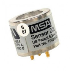 MSA - 636241 - MSA Replacement Hydrogen Sulphide Sensor With Alarms @ 50 PPM For Use With Passport Gas Detectors, ( Each )