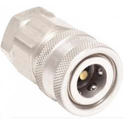 "MSA - 66272 - MSA Snap-Tite 1/4"" NPT Aluminum Female Socket (For Quick-Disconnects And Adapters)"