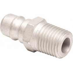 MSA - 66273 - MSA 1/4' NPT Male Plug With Snap-tite Aluminum Male Quick Disconnect (For Quick-Disconnects And Adapters), ( Each )