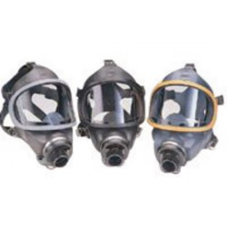 MSA - 801454 - MSA Medium Ultravue Series Full Face Air Purifying Respirator, ( Each )
