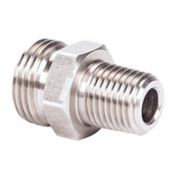 MSA - 808358 - MSA 1/4 NPT X 3/4 Stainless Steel Male Union Adapter (For Quick-Disconnects And Adapters), ( Each )