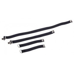 MSA - 86537 - Headband Set Of4 Black E