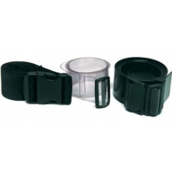 MSA - 9961 - MSA Black Uncoated Support Belt (For Quick-Disconnects And Adapters), ( Each )