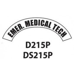 MSA - D215 - MSA D215 Vinyl Emer. Medical Tech Title Tape For Use With Cairns Fire And Rescue Helmets, ( Each )