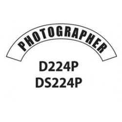MSA - D224 - MSA D224 Vinyl Photographer Title Tape For Use With Cairns Fire And Rescue Helmets, ( Each )