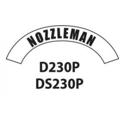 MSA - D230 - MSA D230 Vinyl Nozzleman Title Tape For Use With Cairns Fire And Rescue Helmets, ( Each )