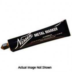 """Nissen - 00232 - Nissen Gray Ball Point Metal Paint Marker With 3/16"""" Wide Point"""