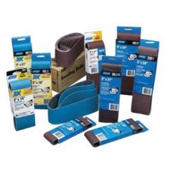 Norton - 07660702064-PK - Norton Adalox R215 R255 3 X 21 80 Grit Medium Grade X-Weight Aluminum Oxide Coat All Purpose Portable Belt (In Contractor Valu-Pack), ( Pack of 5 )