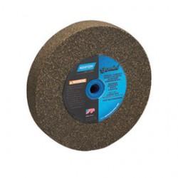 "Norton - 07660788250 - Norton 6"" X 1"" X 1"" 100/120 Grit Fine Aluminum Oxide Gemini Alundum Type 1 Bench And Pedestal Wheel"