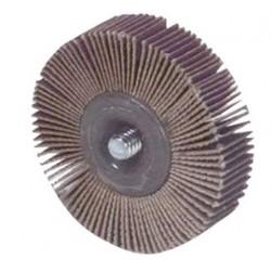 "Norton - 63642502628 - 1""x1"" 60x Grit Small Dia. Flap Wheel-"