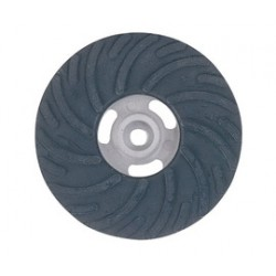 Norton - 63642504918-PK - Norton 4 Rubber Medium Density Air Cooled Backing Pad (For Use With Fiber Discs), ( Pack of 5 )