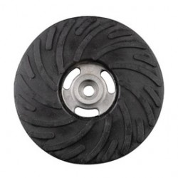 """Norton - 63642543426 - Norton 9"""" Rubber Hard Density Air Cooled Backing Pad (For Use With Avos Fiber Discs)"""