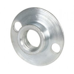 "Norton - 63642543463 - Norton 1/2"" X 5/8"" - 11 X NO 103 Steel 66NS Short Retainer Nut (For Use With Air Cooled Back Up Pads And Fiber Discs)"