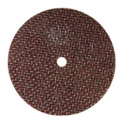 "Norton - 66243510640 - Norton 2 1/2"" X 1/16"" X 1/4"" Aluminum Oxide GEMINI Free Cut And Reinforced Type 1 Cut Off Wheel For Use With Horizontal or Straight Shaft Grinder On Steel And Stainless Steel"