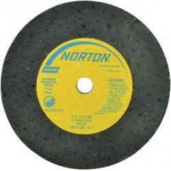"Norton - 66243522417 - 3""x1/2""x3/8"" Type 01 Grinding Wheel D Sid"