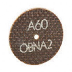 """Norton - 66243528573 - Norton 3"""" X .0350"""" X 1/4"""" 60 Grit A60-0BNA2 Aluminum Oxide Flat Type 1 Straight Cut Off Wheel For Use With Horizontal or Straight Shaft Grinder On Steel And Stainless Steel"""