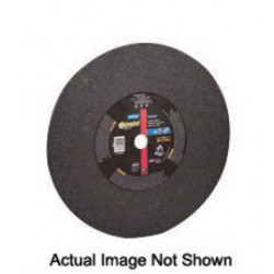 "Norton - 66253306611 - Norton 14"" X 1/8"" X 1"" C01418GLL Aluminum Oxide GEMINI LONGLIFE Flat Type 1 Straight Cut Off Wheel For Use With Chop Saw On Steel, Stainless Steel And Masonry"