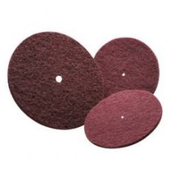 Norton - 66261005073-PK - Norton 6 X 1/2 100 - 150 Grit Medium Grade Aluminum Oxide Bear-Tex High Strength Non-Woven Abrasive Disc, ( Pack of 70 )