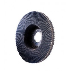 "Norton - 66261119281 - Norton 7"" X 7/8"" 40 Grit CHARGER R822 Zirconia Alumina Type 29 Conical Shape Flap Disc With Phenolic Backing"