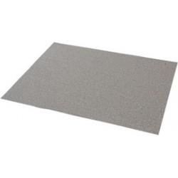"Norton - 66261131634 - Norton 11"" X 9"" P80B Grit A275 No-Fil Aluminum Oxide Medium Grade Open Coat Resin Bond Stearate Sandpaper Sheet"