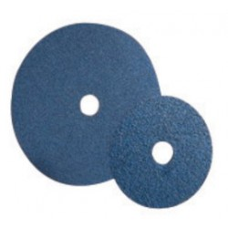 Norton - 66261137458-CA - Norton 7 X 5/8 - 11 80X Grit F826P NorZon Plus Speed-Lok AVOS BlueFire Ceramic Zirconia Medium Grade Fiber Disc (10 Per Pack), ( Case of 40 )