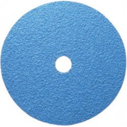 "Norton - 66261138584 - Norton 9 1/8"" X 7/8"" 24X Grit F826P NorZon Plus BlueFire Ceramic Zirconia Very Coarse Grade Closed Coat Resin Bond Fiber Disc"