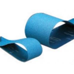 "Norton - 78072728821 - Norton BlueFire R823P NorZon Plus 4"" X 36"" 120 Grit Fine Grade X-Weight Alumina Zirconia Closed Coat Narrow Sanding Belt"