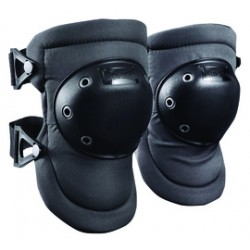 Occunomix - 225-D - Occunomix One Size Fits Most Black Polyester, PE Plastic Hard Cap / D3O Impact Protection Knee Pad With Buckle And Strap Closure, ( Pair )