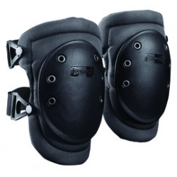Occunomix - 226-D - Occunomix One Size Fits Most Black Polyester / D3O Impact Protection Knee Pad With Buckle And Strap Closure, ( Pair )