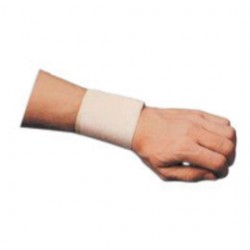 Occunomix - 310-LY8-EA - OccuNomix Beige Wrist Assist Woven Elastic Wrist Support Wrap, ( Each )