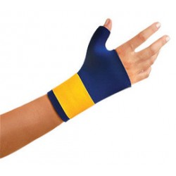 Occunomix - 400-015 - OccuNomix X-Large Navy Classic Neo Neoprene Slip On Thumb And Wrist Support With Hook And Loop Closure
