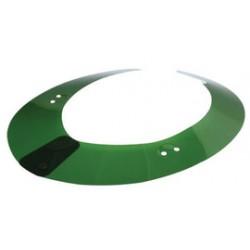 Paulson - AS1 - Paulson Model A-S1 Green Acetate Sun Shield, ( Each )