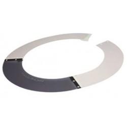 Paulson - AS4M - Paulson Model A-S4-M Smoke ABS/Lexan Sun Shield, ( Each )
