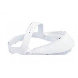 Paulson - HG1S - Paulson Model HG1-S White Polyethylene Headgear, ( Each )