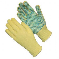 Protective Industrial Products (PIP) - 08-K300PD/M-DZ - Protective Industrial Products Medium Memphis Kevlar Cut Resistant Gloves With PVC Dots Coating, ( Dozen of 12 )